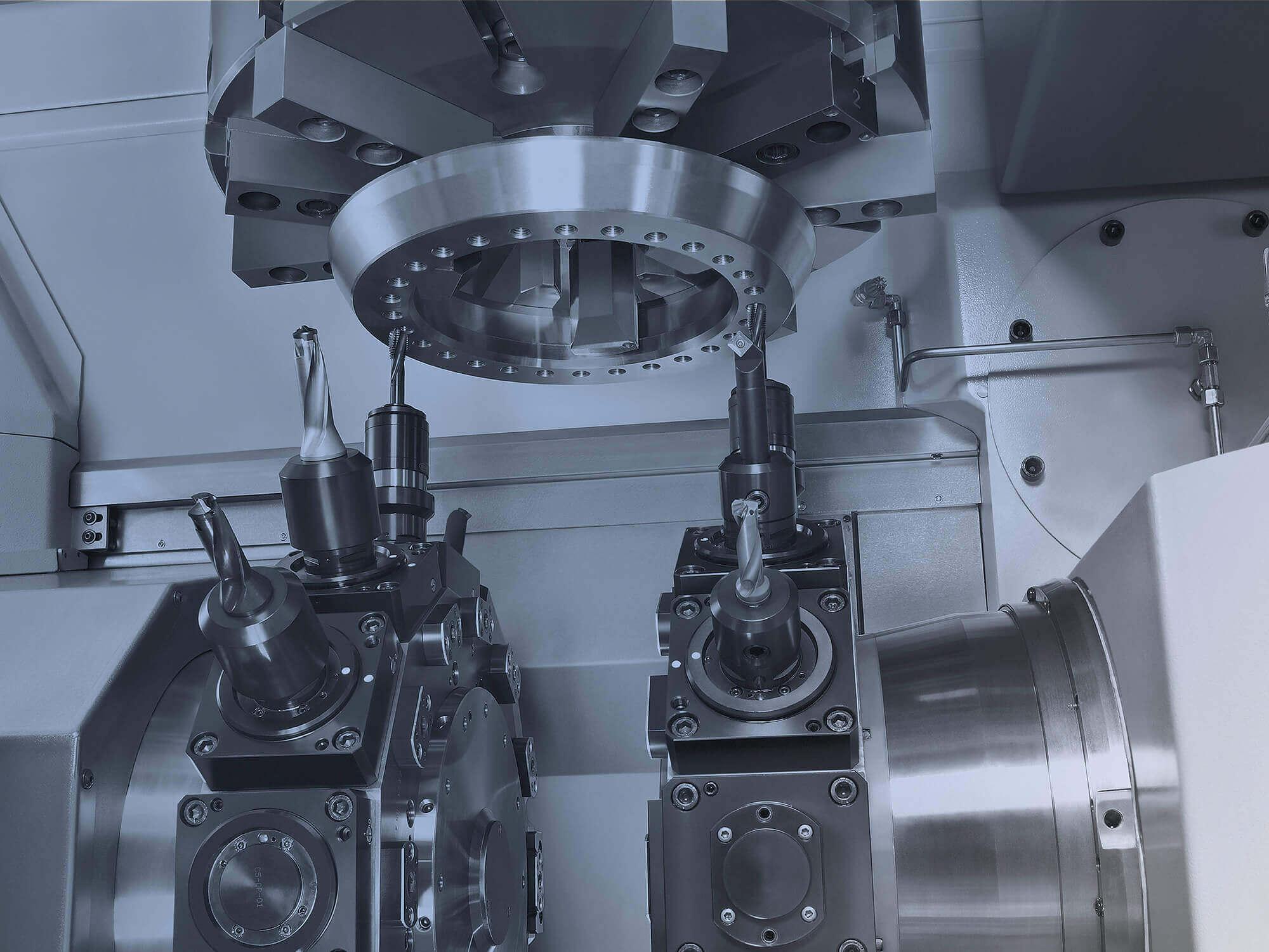 Ein- oder Mehrrevolver-Drehmaschinen