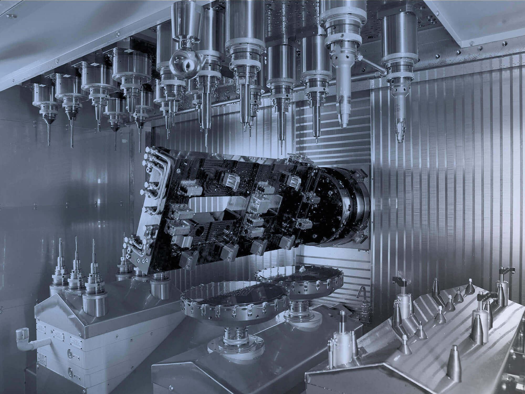 Multispindel- Sondermaschinen